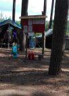 na obozie harcerskim w Krzeczkowie