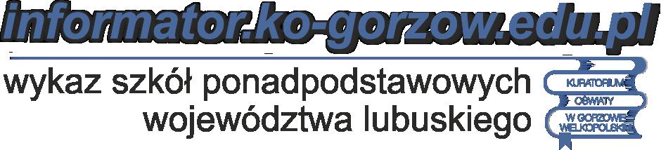 """logo serwisu """"informator"""" posiadającego wykaz szkół ponadpodstawowych woj lubuskiego (odnośnik)"""